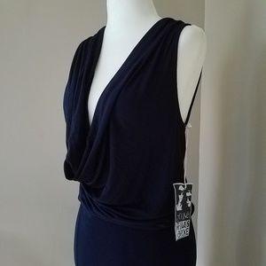 Young Fabulous & Broke Blue Maxi Dress Small NWT